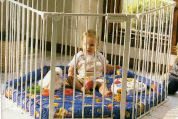 Playpen Baby Fence